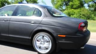 Заказ автомобиля Ягуар (Jaguar )черного цвета  на свадьбу в Сумах