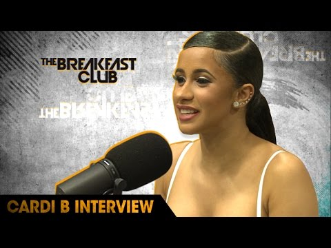 Cardi B Stops Through to Talk About Her New Mixtape, Adjusting to Fame & More
