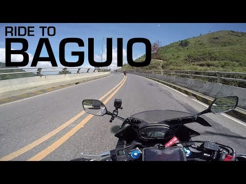 MotoVLOG: 250KM Ride to Baguio