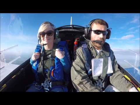First time aerobatics reaction