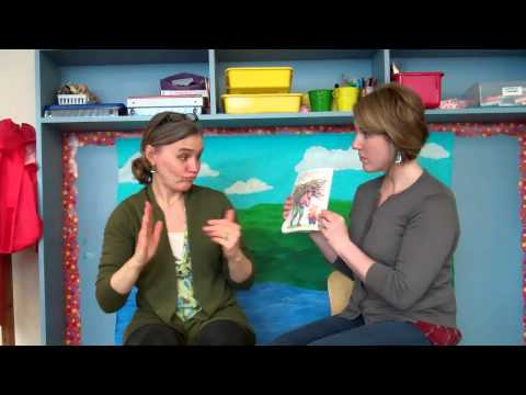 "Here's an ASL story time ""reading"" of ""The Three Little Pigs."""