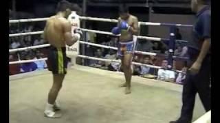 Prathet scores 2nd round KO at Bangla