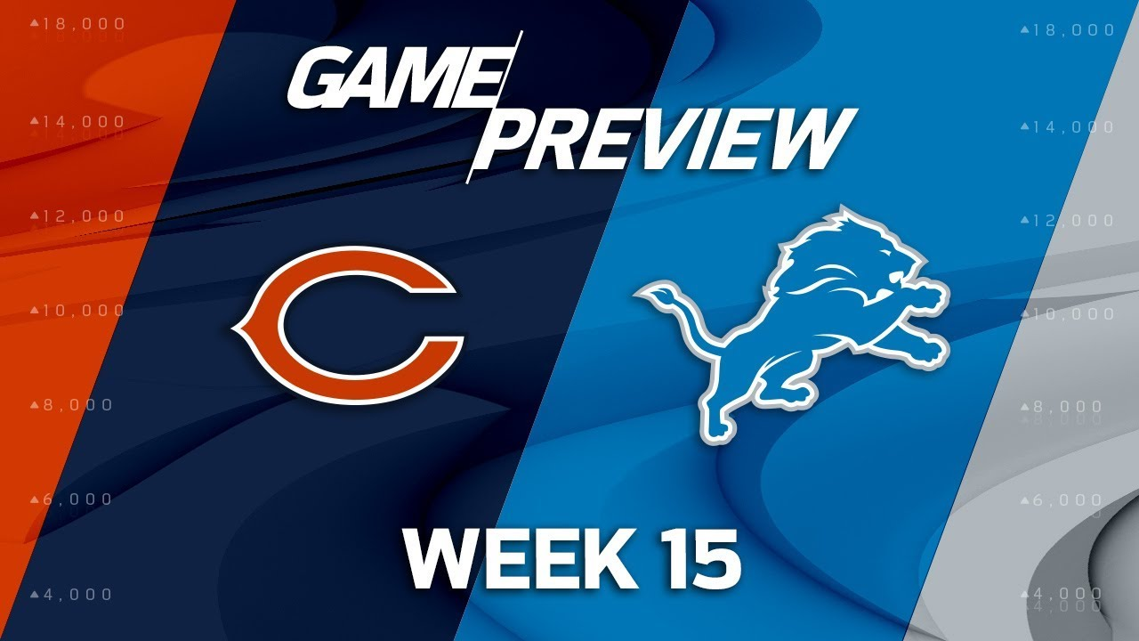 Cheap Chicago Bears vs. Detroit Lions | NFL Week 15 Game Preview | NFL  for sale