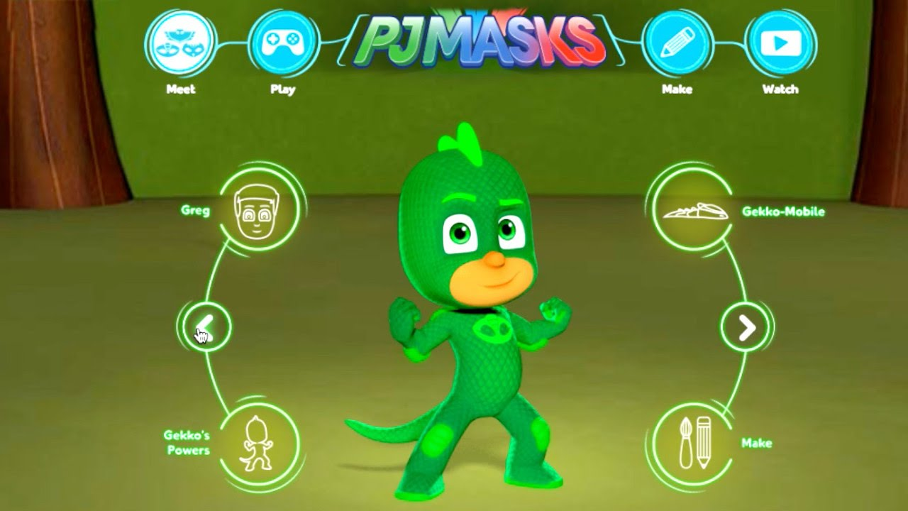 PJ Masks Games, Craft, Character & Vehicle - Website Tour