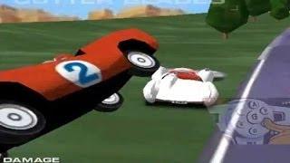 Juego De Autos 19: Speed Racer The Great Plan: Meteoro Y El Mach5 En El Camino Serpiente.