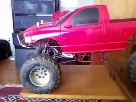 1 6 4x4x4 rc dodge monster truck build 1 youtube. Black Bedroom Furniture Sets. Home Design Ideas