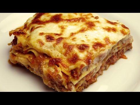 Рецепт лазаньи с соусом Бешамель- Как быстро приготовить лазанью