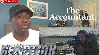 The Accountant Official Trailer #1 REACTION! Ben Affleck