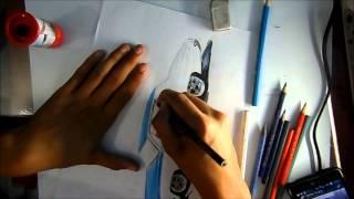 DRAWING | Desenhando - Chevy Malibu Overhaulin - L.A Design Crew