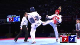 2014 WTF World Junior Championships Final | Female -59kg