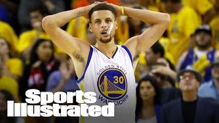 Steph Curry surprises kids at Warriors basketball camp | Mustard Minute | Sports Illustrated