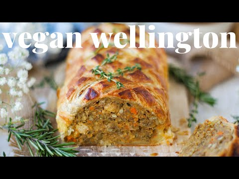 VEGAN WELLINGTON - EASY AND IMPRESSIVE HOLIDAY DISH | PLANTIFULLY BASED