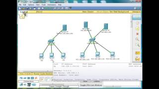 1  Basic Switch and Network Configuration Using Packet Tracer   CCNA