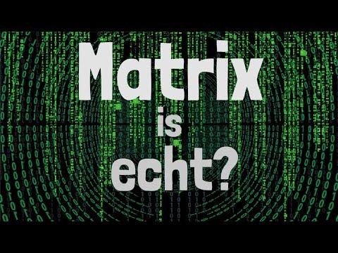 Waarom we in de Matrix leven!