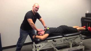 Prone Cervicothoracic Junction Manipulation - Evolution Sports Physiotherapy