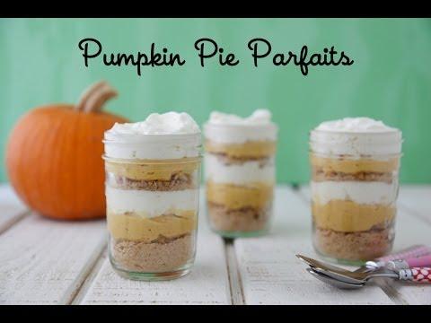 Pumpkin Pie Parfaits - Easy Thanksgiving Desserts - Weelicious