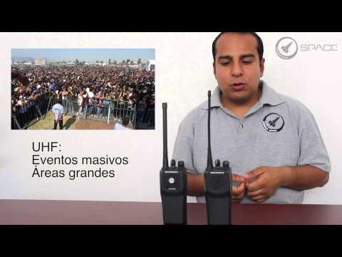 Uso de las diferentes frecuencias de los radios Motorola EP450
