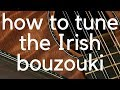 Download How to tune an Irish bouzouki MP3 song and Music Video
