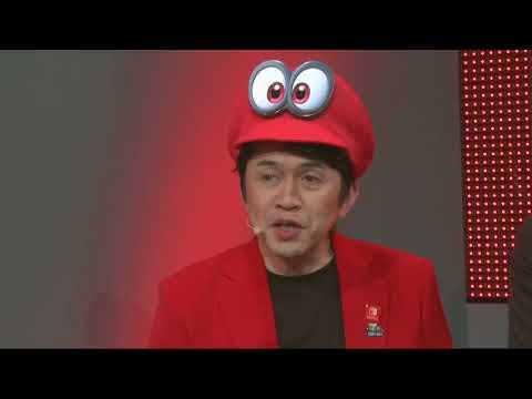 Nintendo at Gamescom 2017 - first Super Mario Odyssey Luncheon Kingdom gameplay with Koizumi