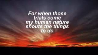 Thank You Lord, for the trials that come my way