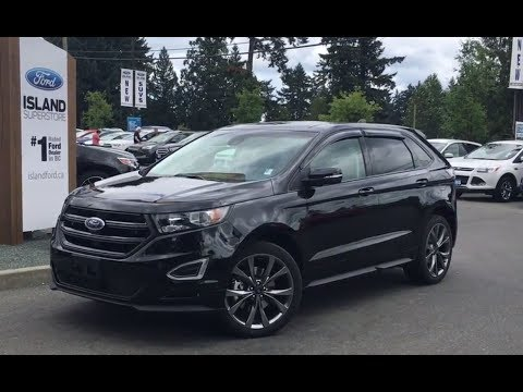 2017 Ford Edge Sport Canadian Touring AWD W/ Leather & Suede Seats Review |Island Ford