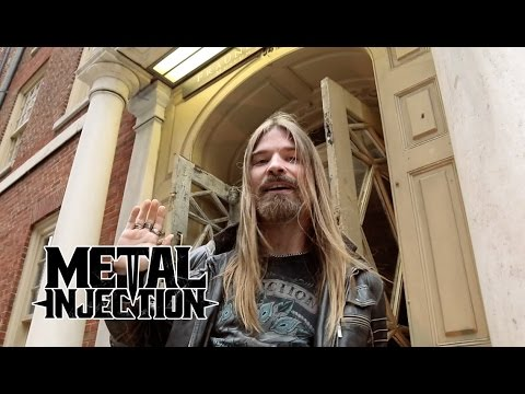 SABATON Visits The Fraunces Tavern American Revolutionary War Site | Metal Injection