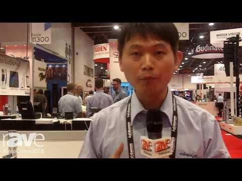 InfoComm 2016: Okayo Electronics Demos WT-600 Tour Guide System