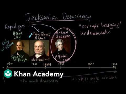 Jacksonian Democracy Part 2