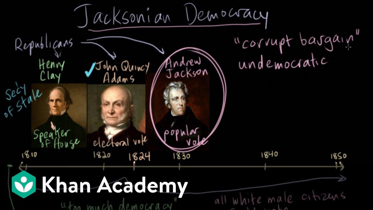 Jacksonian Democracy - the
