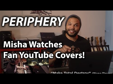 PERIPHERY's Misha Mansoor Watches Fan YouTube Covers!