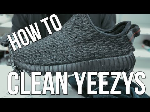 HOW TO CLEAN YEEZYS!