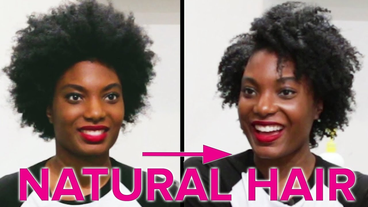 People With Natural Hair Get Perfect Curls Youtube