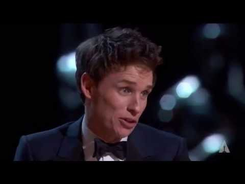 Thumbnail: Eddie Redmayne winning Best Actor