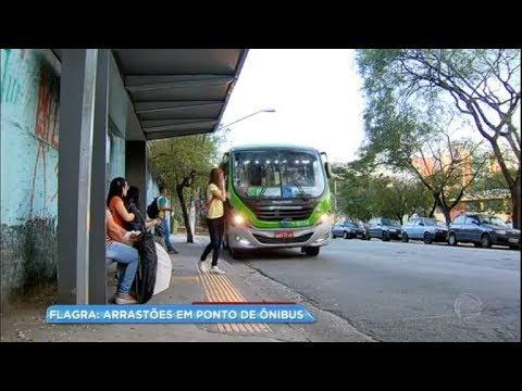 Arrastões em ponto de ônibus preocupam população