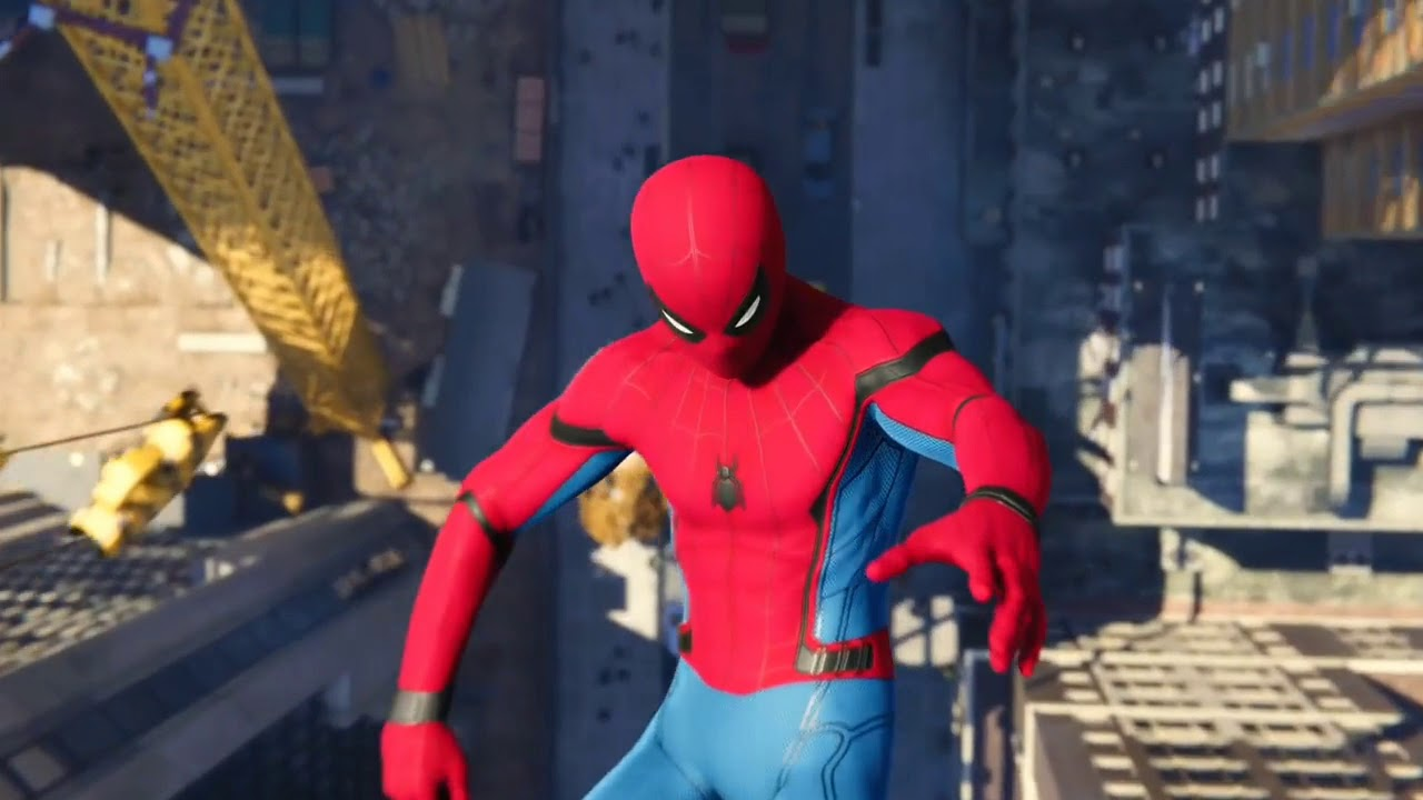 Download Spiderman PS4 Scared of The Dark