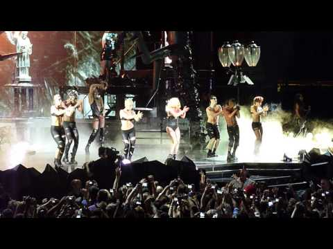 Lady Gaga Performing Alejandro Live At The American Airlines Center In Dallas, TX 2010