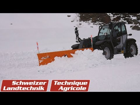 Im Kampf gegen den Schnee