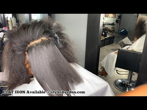 BLOW DRY AND SILKY STRAIGHT HAIR / NATURAL HAIR