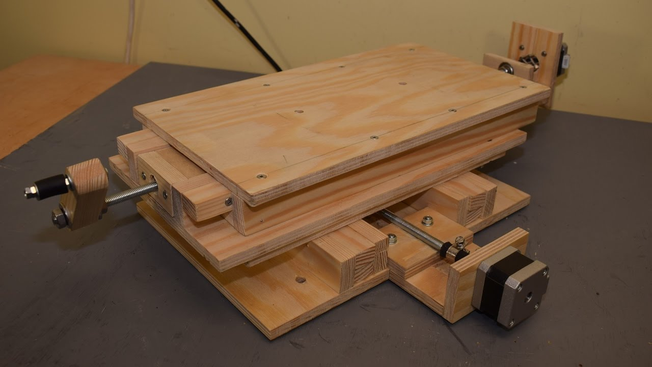 Making Cnc Xy Milling Table Part 2 Mounting The Stepper