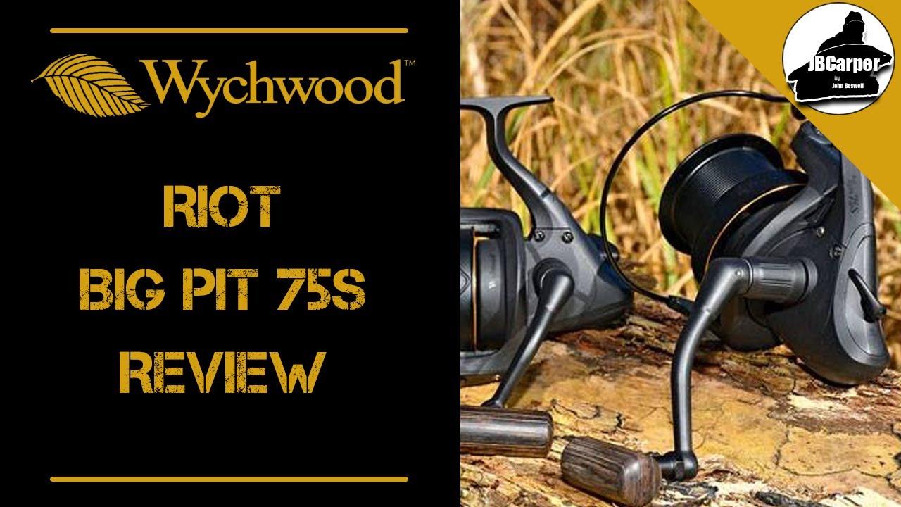 Wychwood émeute 75 S Big Pit fishing reel