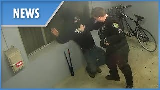 Dumb thief caught stealing... from a police station
