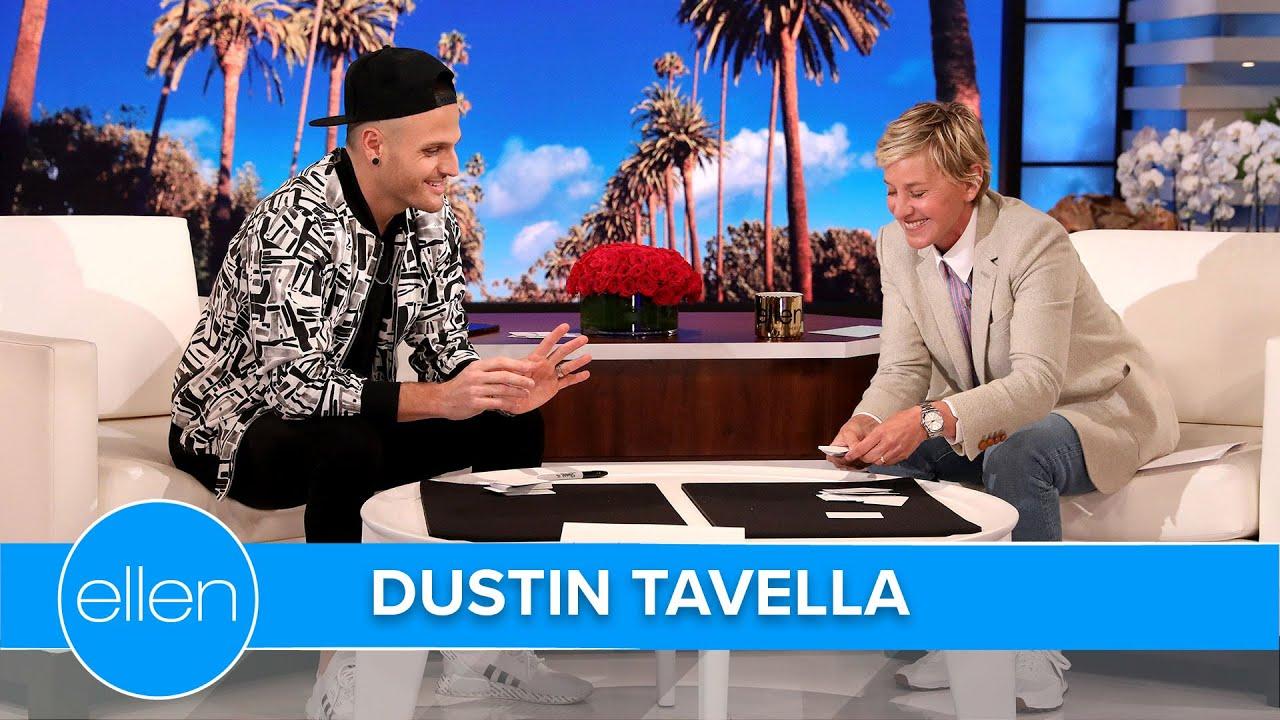America's Got Talent Winner Dustin Tavella Shares Inspiring Adoption Story on The Ellen Show