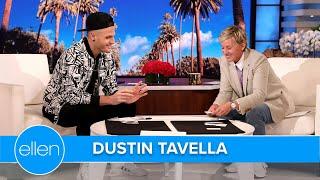 'America's Got Talent' Winner Dustin Tavella Shocks Ellen with His Full Circle Magic Trick