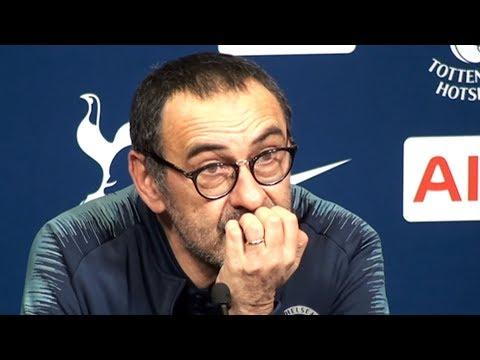 Tottenham 1-0 Chelsea - Maurizio Sarri Full Post Match Press Conference - Semi-Final 1st Leg