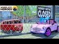 Baby Car Pretend Play in Playground | Wheel City Heroes | Excavator Cartoon for Kids Children