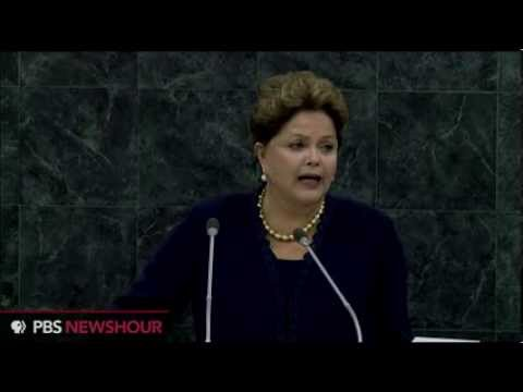 Brazil President Condemns NSA Spying in UN General Assembly Speech