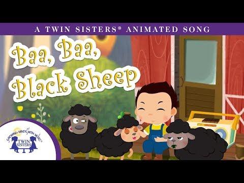 Baa, Baa, Black Sheep - A Twin Sisters® Animated Song *