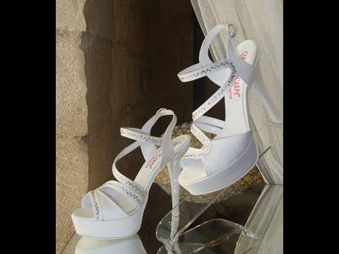Scarpe Sposa Trani.La Nostra Collezione Calzature Da Sposa E Cerimonia 2014 Youtube