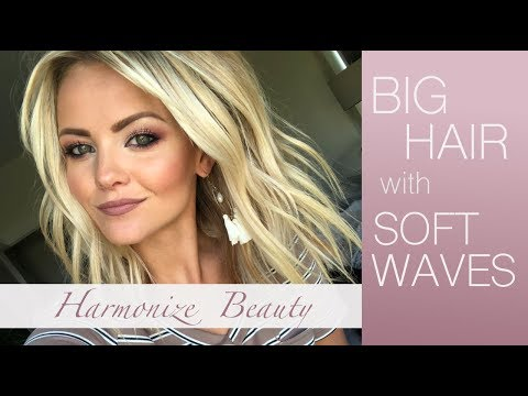 How to get big hair with soft waves thumbnail