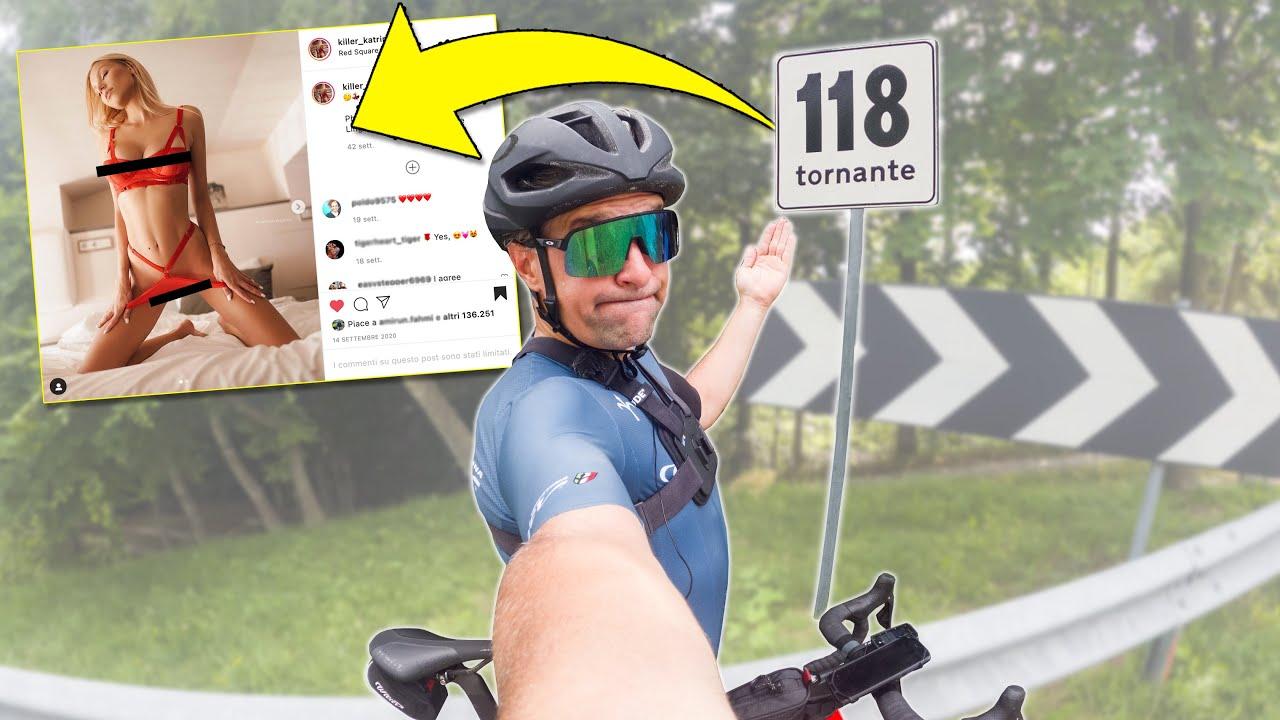 In bici da corsa VEDO MODELLE AI TORNANTI! 🚴🏻♂️